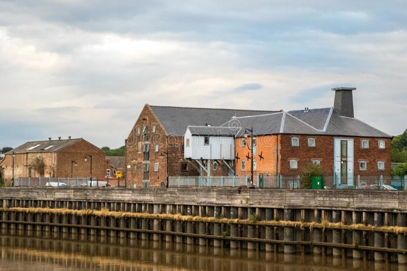 River Trent stock photography