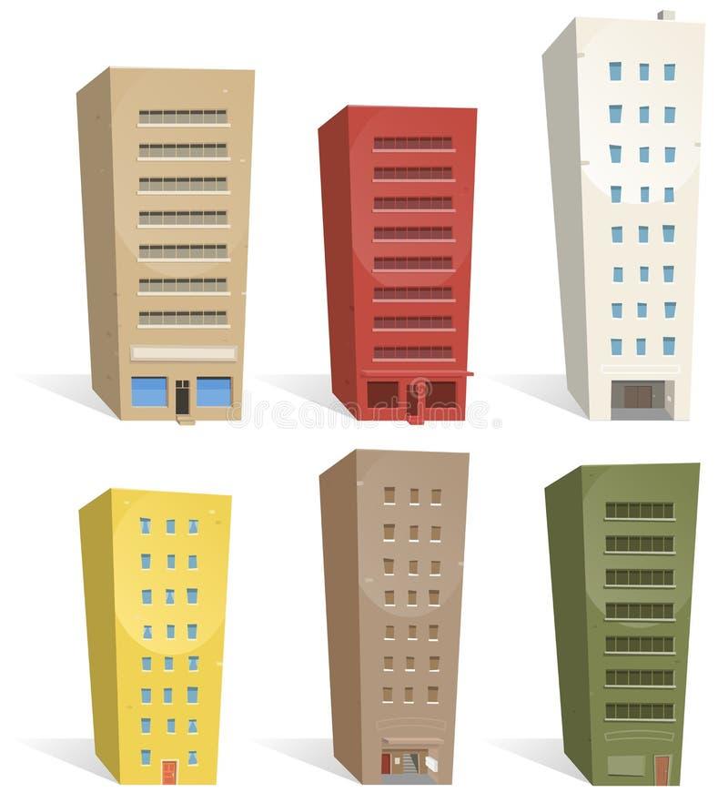 Free Buildings Set Stock Image - 21052911