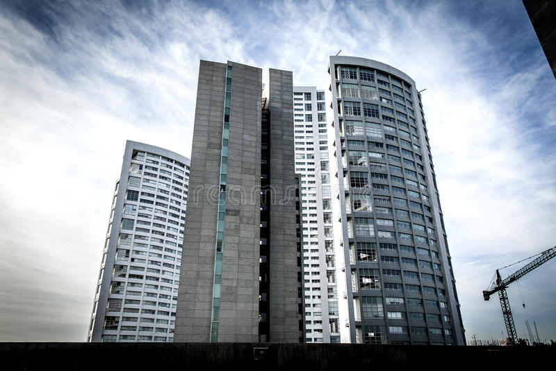 Buildings. Several tall buildings in Guadalajara, Jalisco, Mexico, City stock image