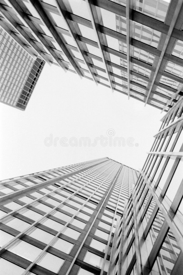 Buildings Straight Up Stock Photography