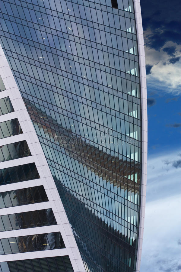 Download Buildings Wall  Of The Steel Color Stock Image - Image of corporate, architecture: 39504391