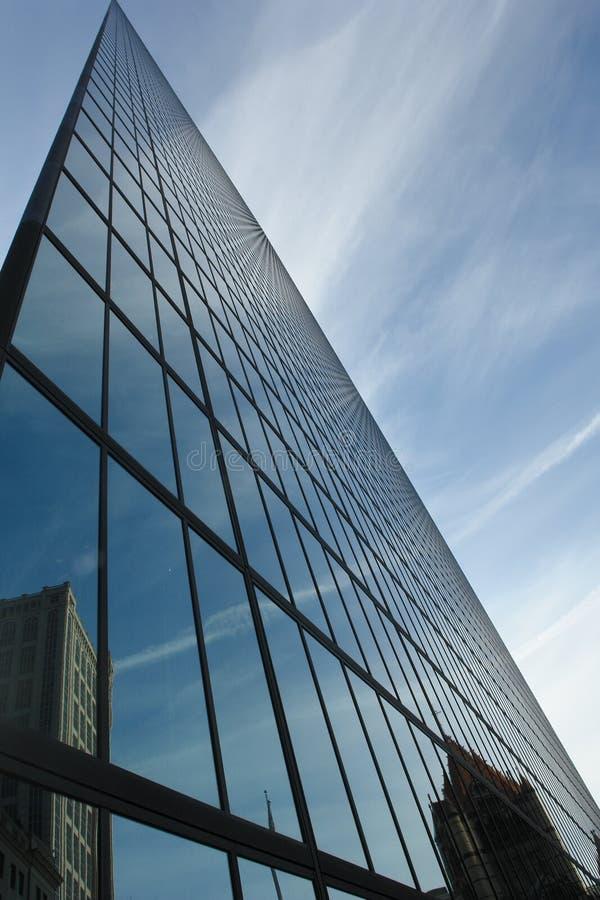 buildling glass kontor fotografering för bildbyråer