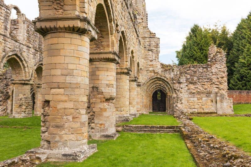 Buildwas-Abtei, Shropshire, England stockbilder