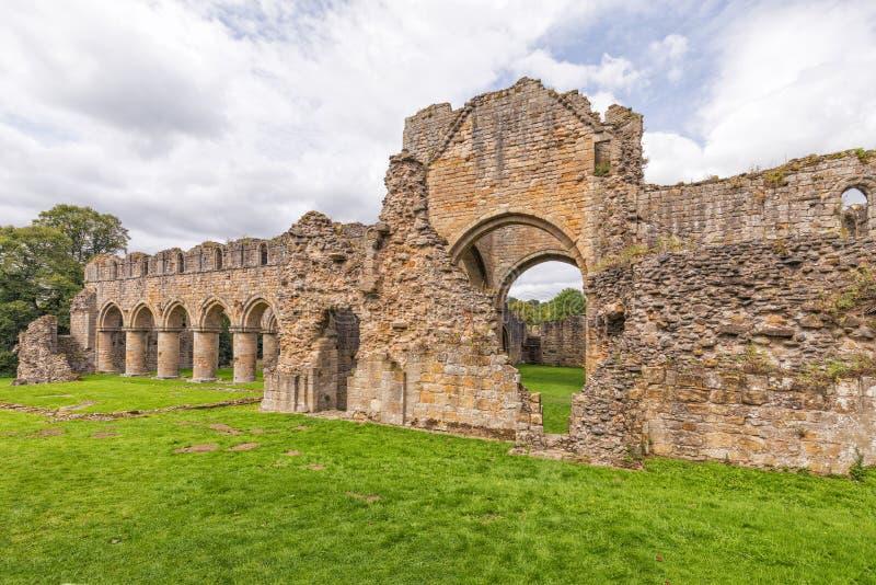 Buildwas-Abtei, Shropshire, England lizenzfreie stockfotos