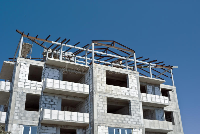 Download Built House Royalty Free Stock Image - Image: 14013456