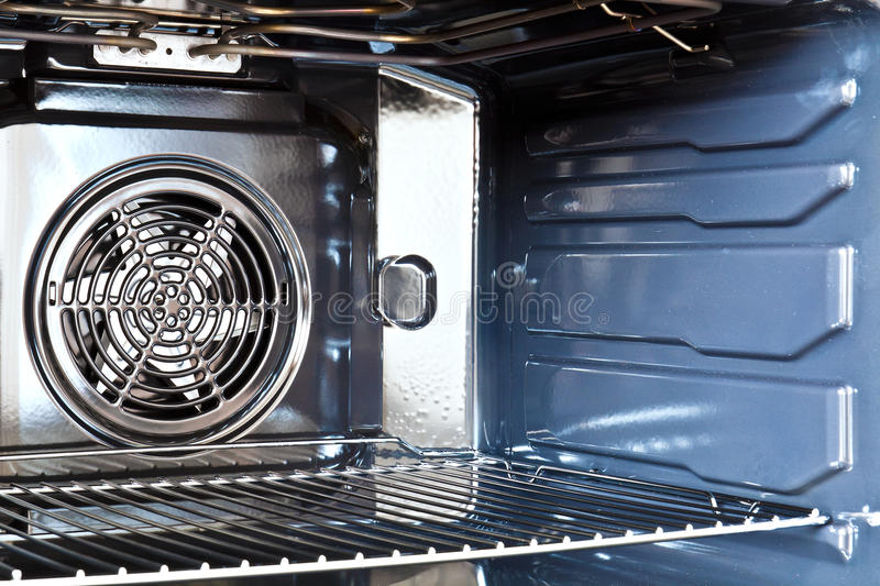 Built in oven royalty free stock photo