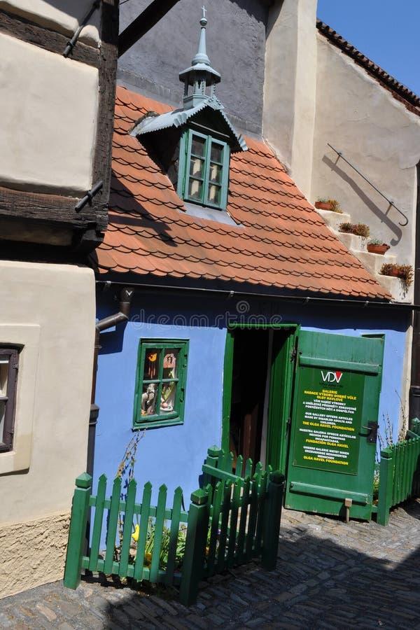 Golden Lane, Prague, Czech Republic royalty free stock image