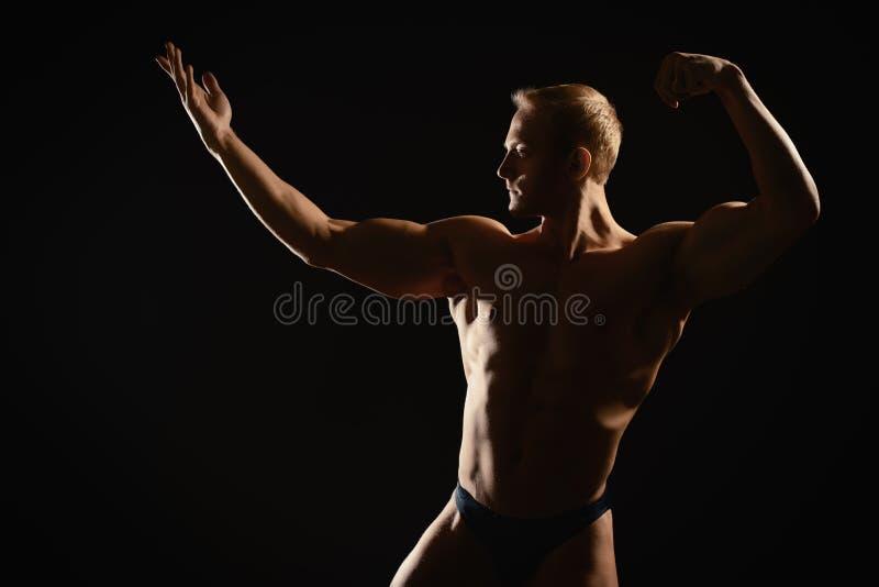 Buio atletico immagini stock libere da diritti