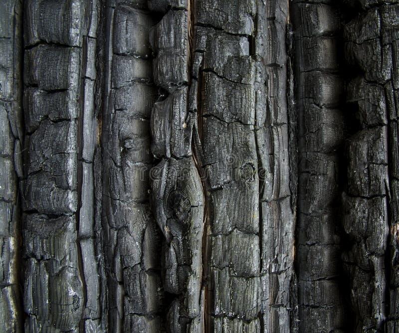 Buirned Wand stockfotos