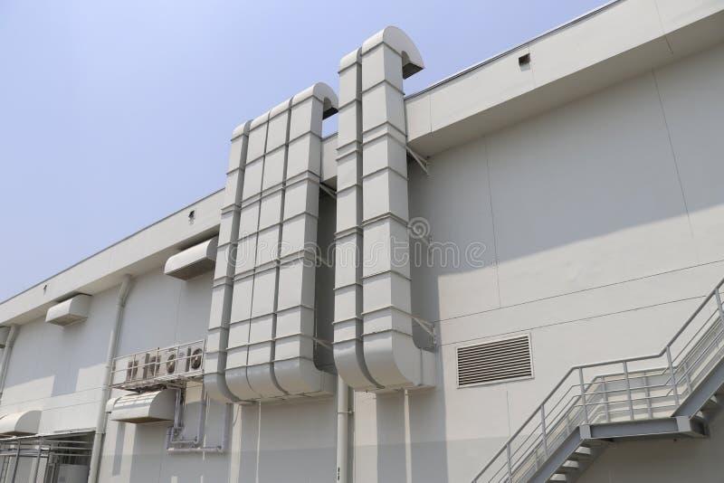 Buis voor airconditioningssystemen stock fotografie