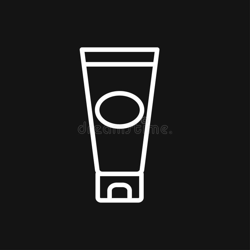 Buiscontainer voor het tekensymbool van het roompictogram voor ontwerp vector illustratie