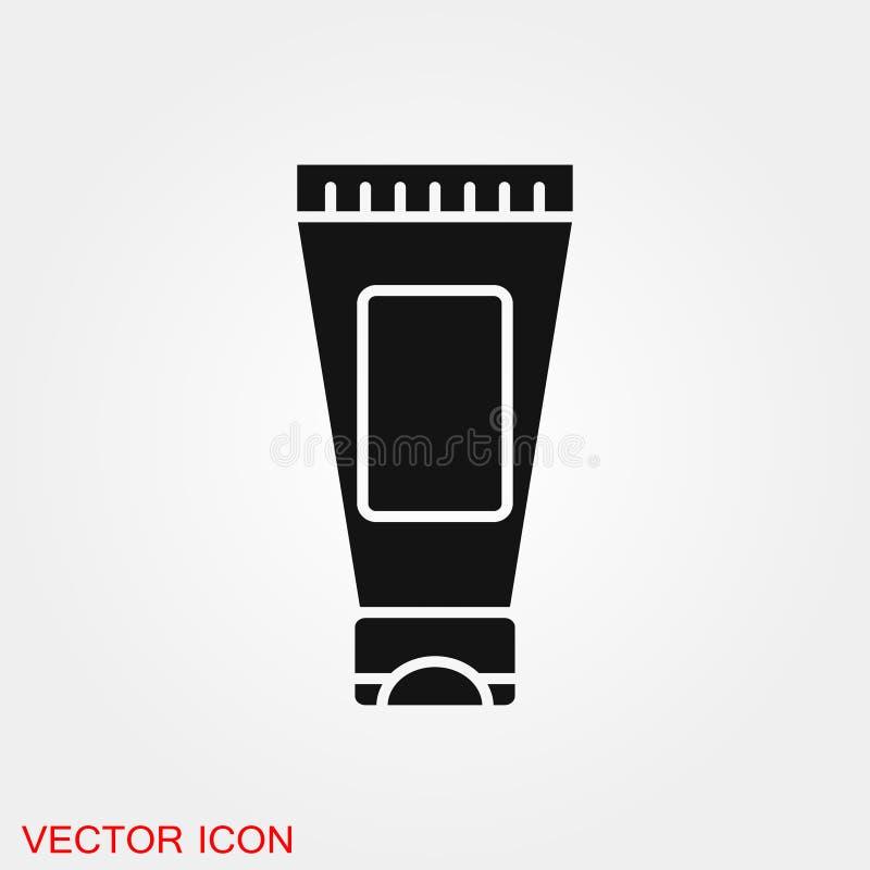 Buiscontainer voor het tekensymbool van het roompictogram voor ontwerp royalty-vrije illustratie