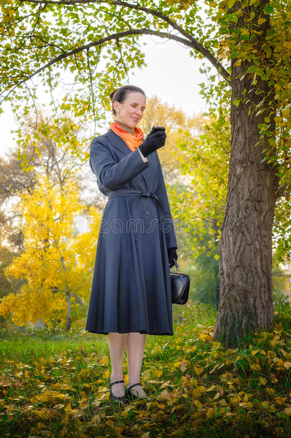 Download Buisiness Woman with Phone stock image. Image of lifestyle - 34566167