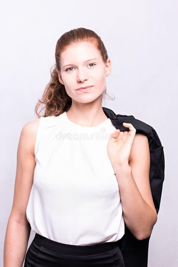 Buisnesswoman stock afbeelding