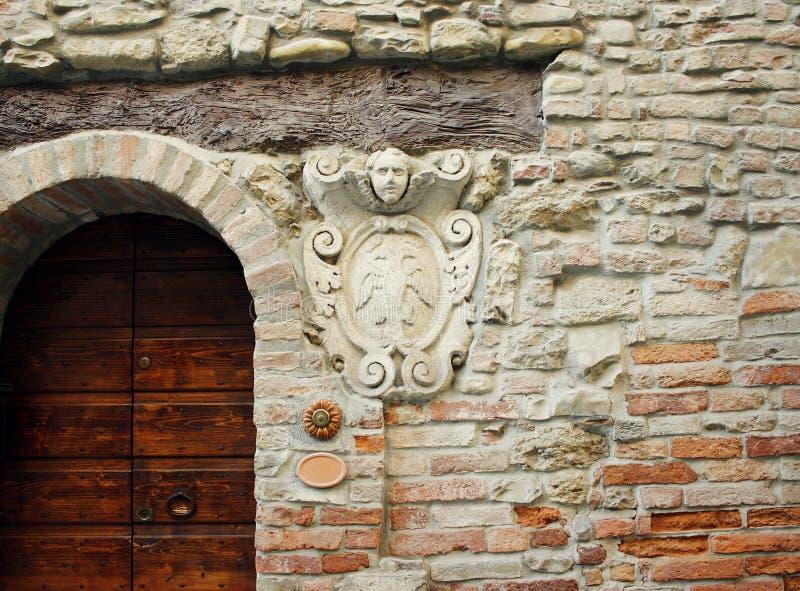 Buiten architecturaal detail royalty-vrije stock foto's