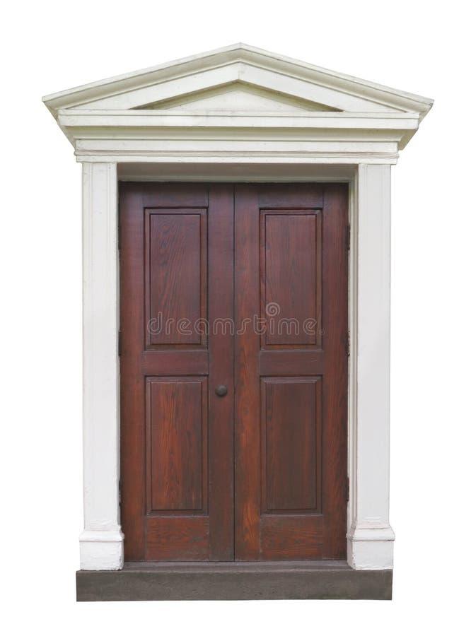 Buitendeur met het buitensporige vormen royalty-vrije stock afbeeldingen