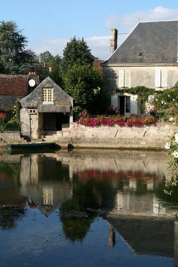 Buitenhuis, Frankrijk royalty-vrije stock afbeelding