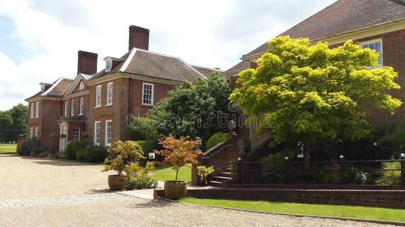 Buitenhuis in Kent royalty-vrije stock afbeeldingen