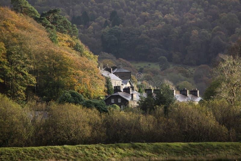 Buitenhuis Wales royalty-vrije stock fotografie