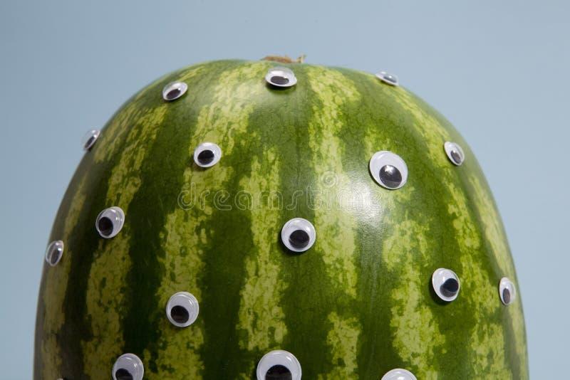 Buitenissige watermeloen royalty-vrije stock foto