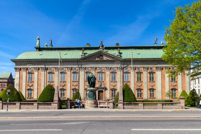 Buitenkant van het Huis van Adel royalty-vrije stock afbeelding