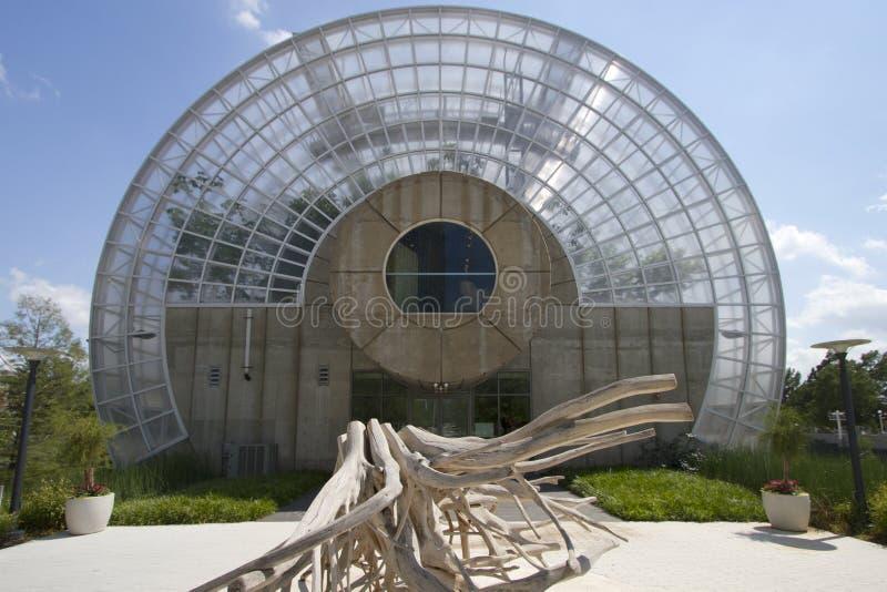 Buitenkant van Horde Botanische Tuin Oklahoma royalty-vrije stock afbeelding