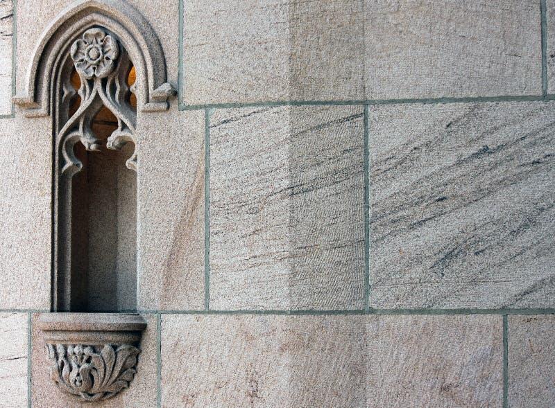 Buitenkant van St John Kathedraal, Spokane, Washington royalty-vrije stock afbeelding