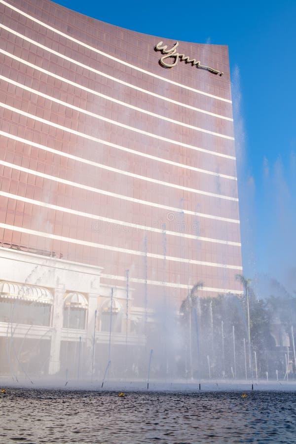 Buitenkant van Wynn Macau royalty-vrije stock foto