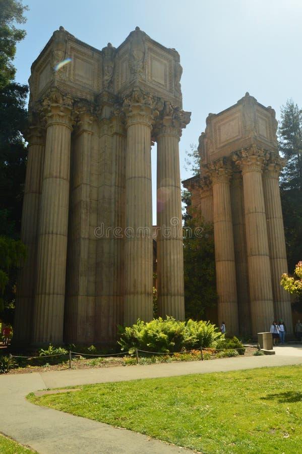 Buitenkanten van San Francisco Theater De Architectuur van de reisvakantie stock foto's