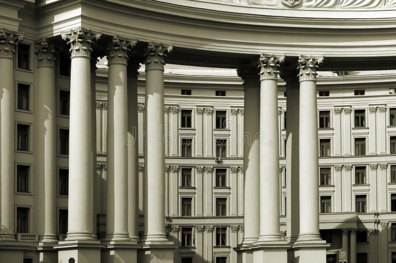 Buitenlands Bureau stock foto
