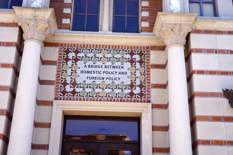 Buitenlands en binnenlands beleid samen royalty-vrije stock afbeeldingen