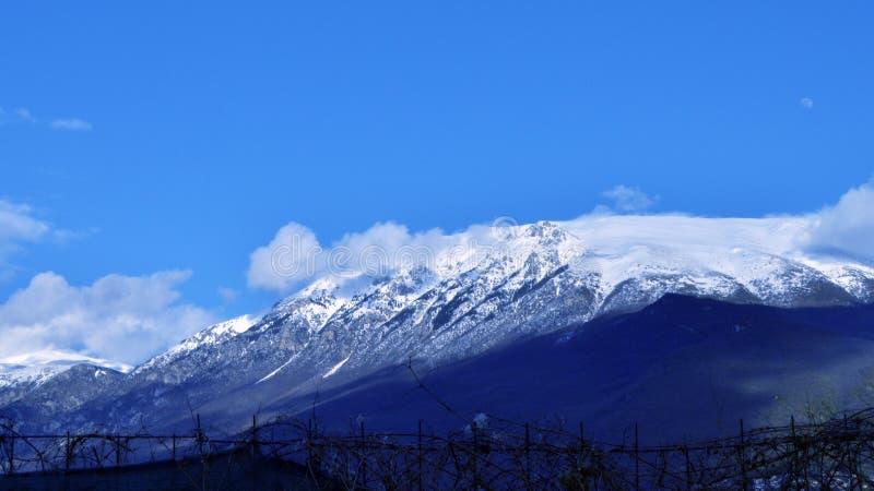 Buitenlandse bergen stock foto's