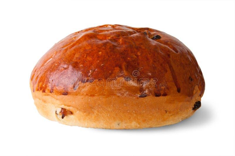 Buitensporig Brood met Rozijnen royalty-vrije stock afbeeldingen