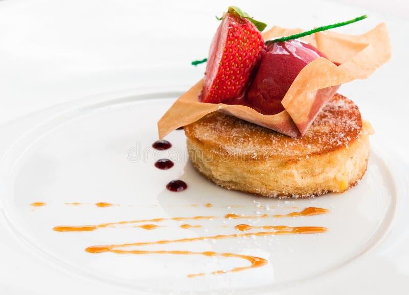 Buitensporig dessert stock afbeelding