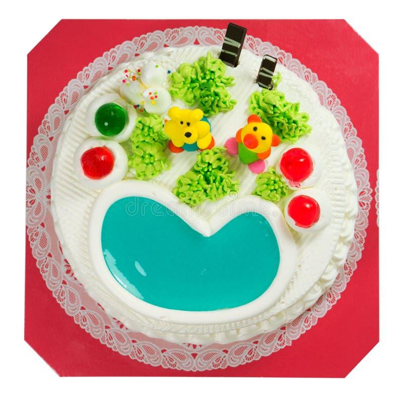 Buitensporige cake royalty-vrije stock foto