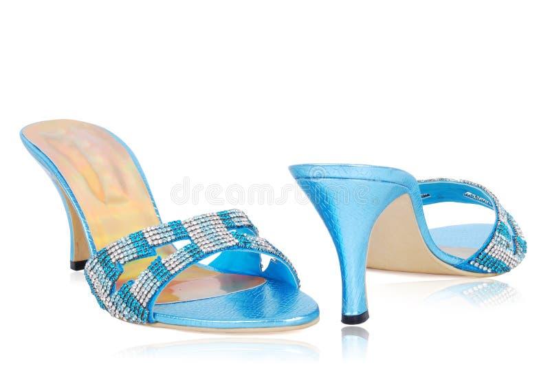 Buitensporige schoenen royalty-vrije stock foto's