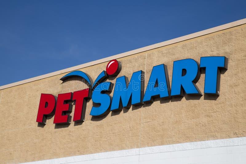 Buitenteken op PetSmart-Plaats royalty-vrije stock afbeelding