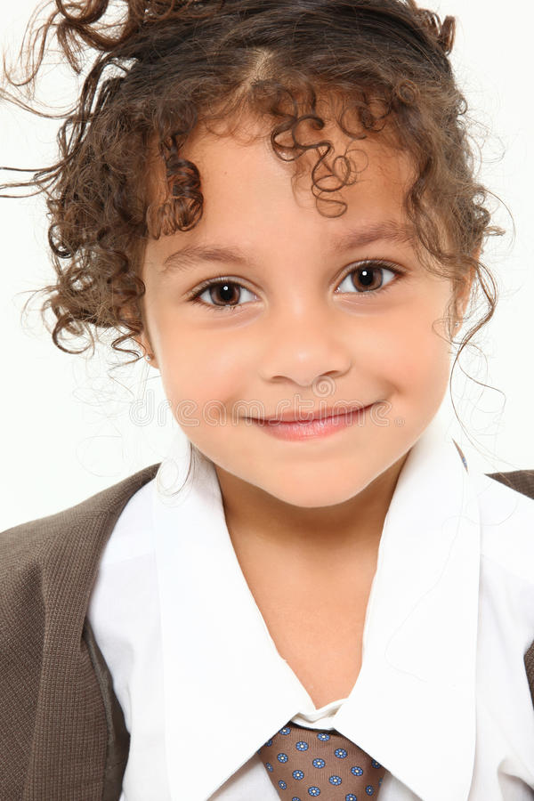 Free Buitiful Girl In Baggy Suit Stock Images - 15218074
