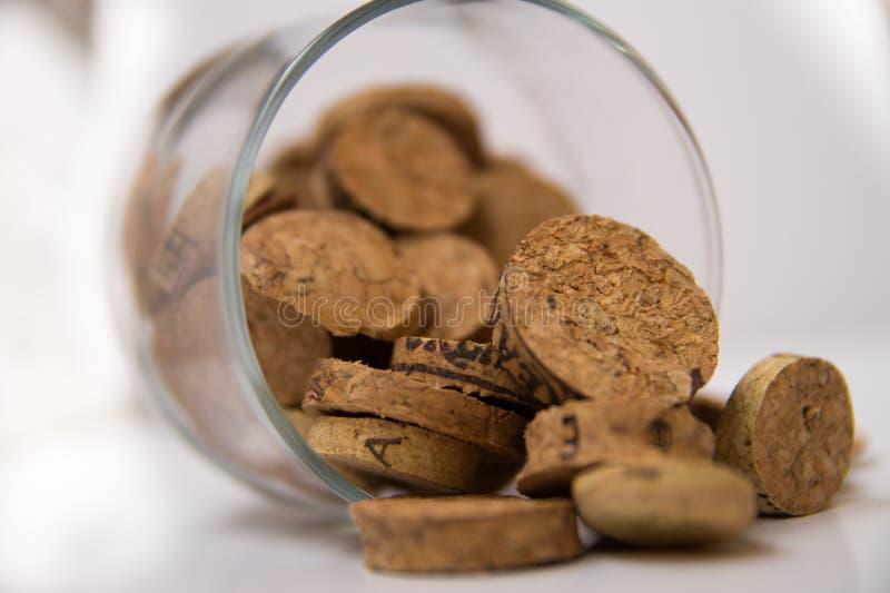 Bujão do vinho imagem de stock royalty free