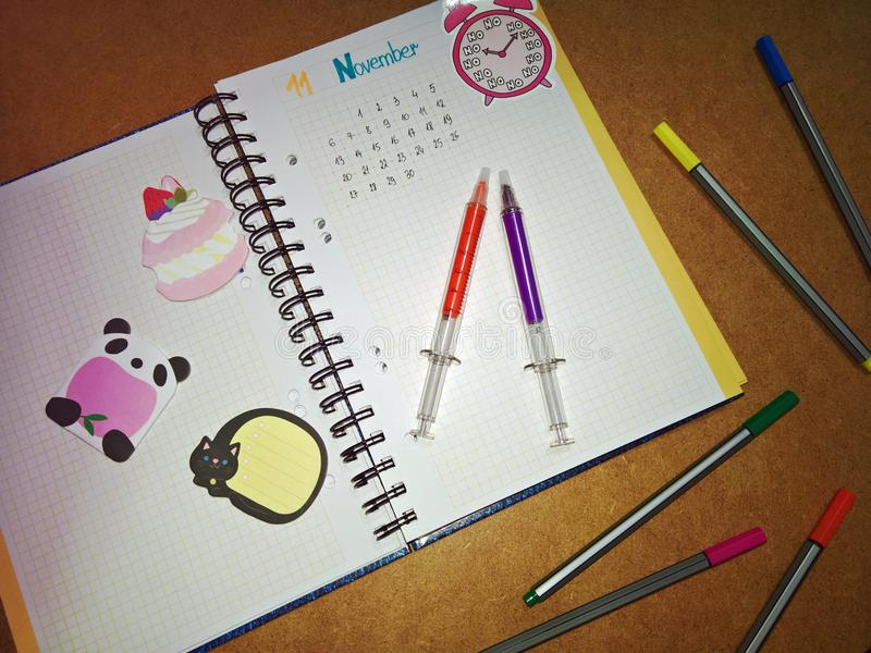 BuJo stockfotos