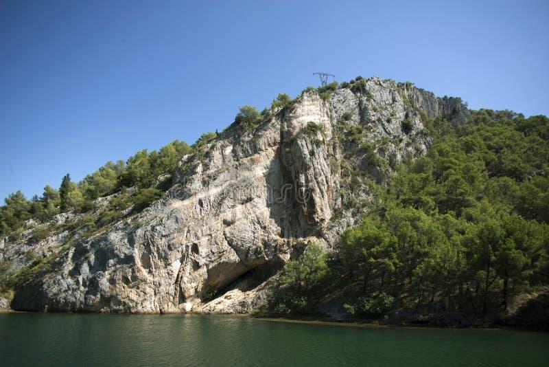 buk克罗地亚krka国家公园skradinski瀑布 库存图片