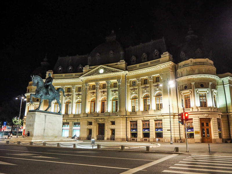 Bukarest, die Hauptstadt von Rumänien lizenzfreie stockbilder