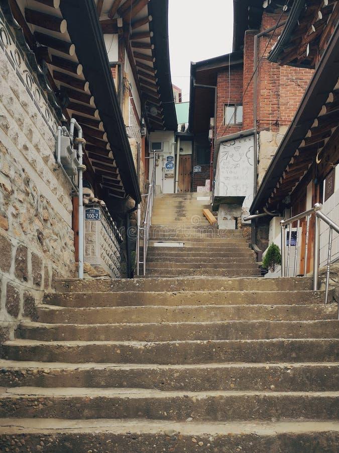 Bukchon Hanok Village. Korea, seoul, asia, korean royalty free stock image