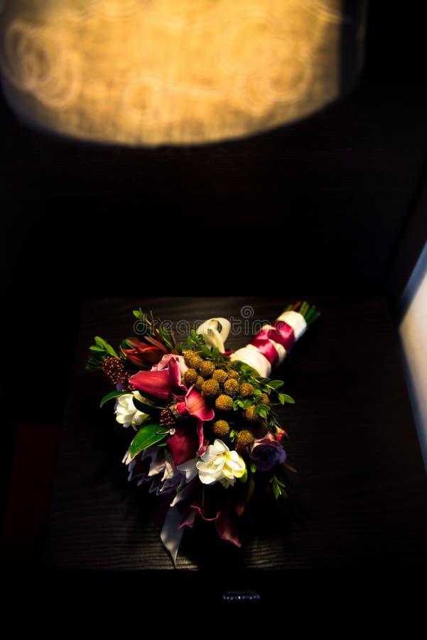 Bukett av blommor royaltyfria foton