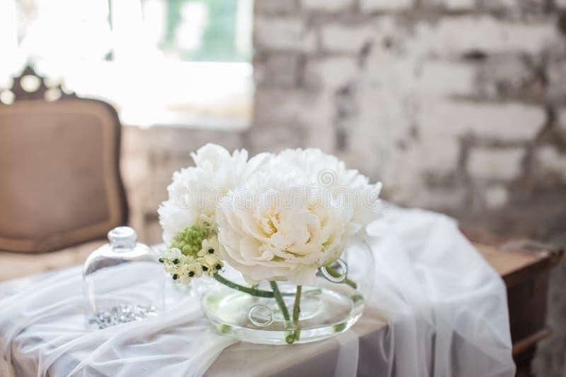 Bukett för vindstilbröllop royaltyfri bild