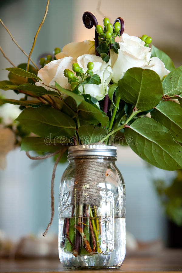 buketten blommar bröllop arkivbilder