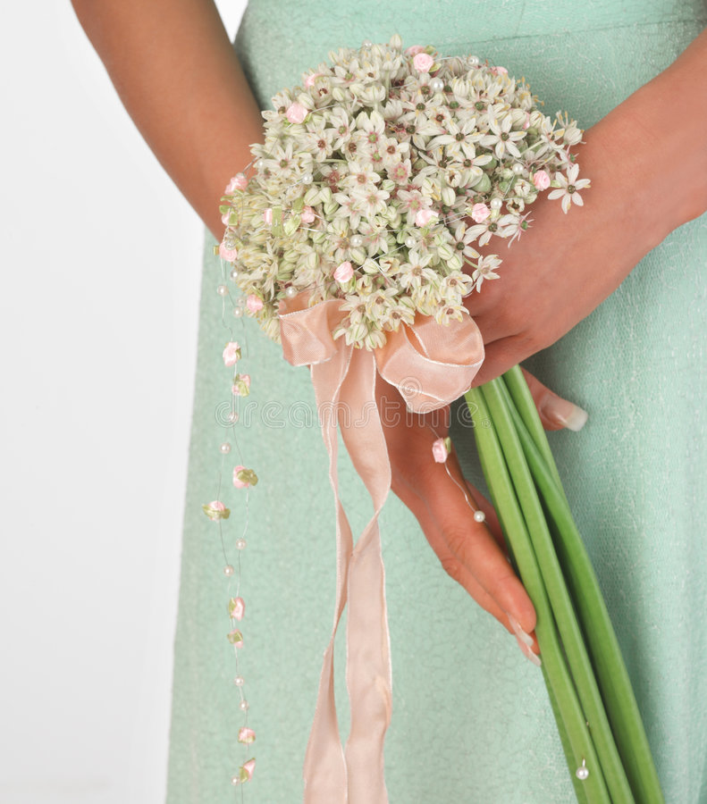 buketten blommar pink royaltyfri foto
