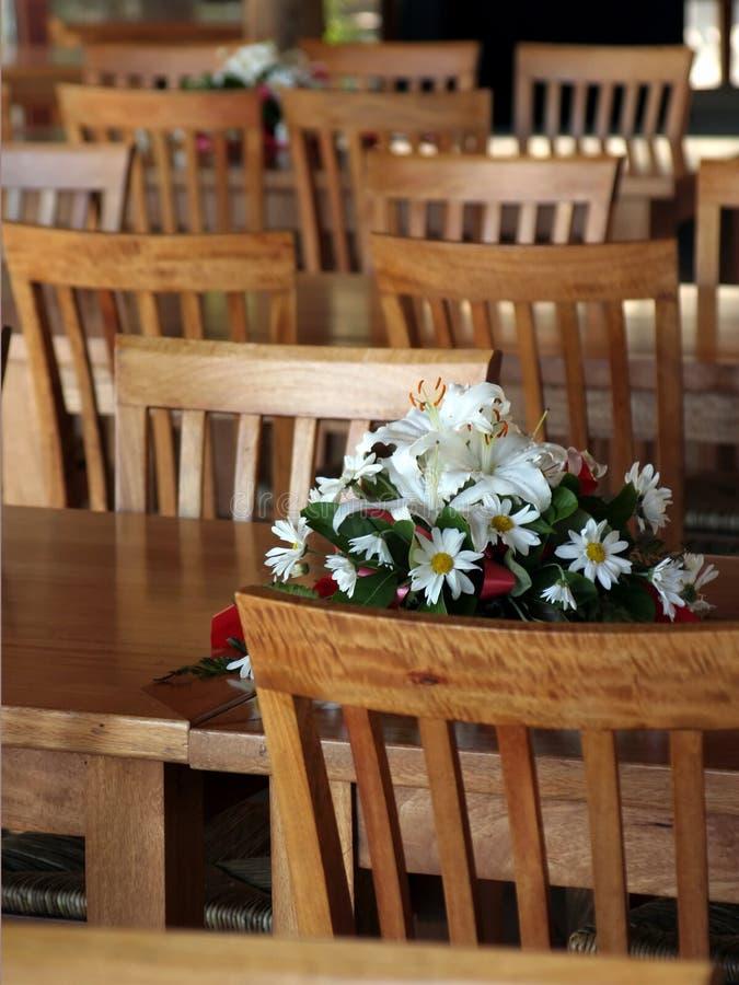 buketten chairs trä royaltyfria foton