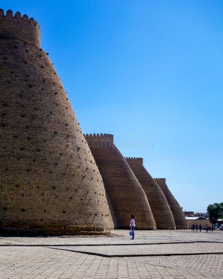 Bukhara arka fotografia stock
