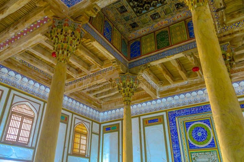 Bukhara gammal stad 09 arkivfoton